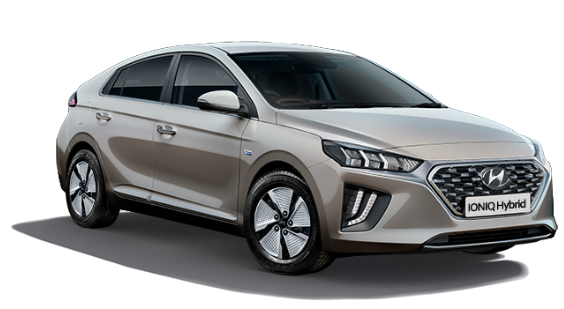 Hyundai Ioniq Hybrid - Available In Fluidic Metal