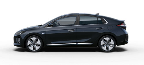 Hyundai Ioniq Hybrid - Available In Phantom Black