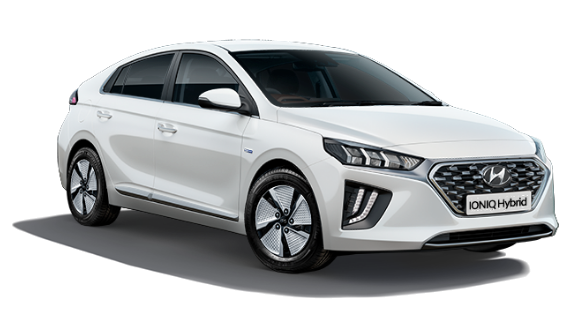 Hyundai Ioniq Hybrid - Available In Polar White