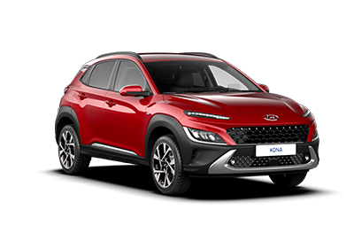 Hyundai Kona Hybrid - Available In Pulse Red