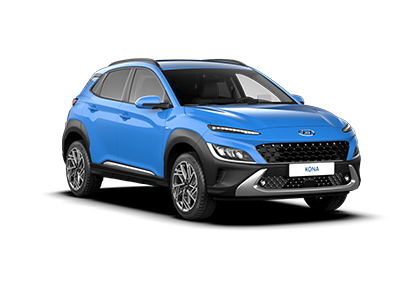 Hyundai Kona Hybrid - Available In Surfy Blue